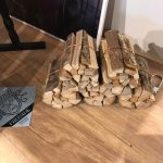 木質燃料です。